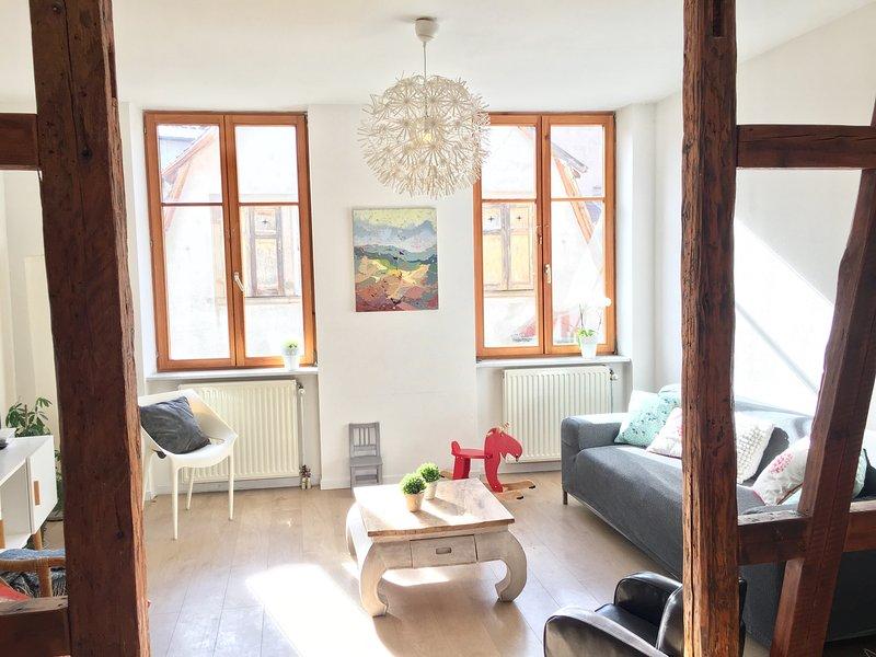 Casa Hansi Oficina centro histórico Colmar