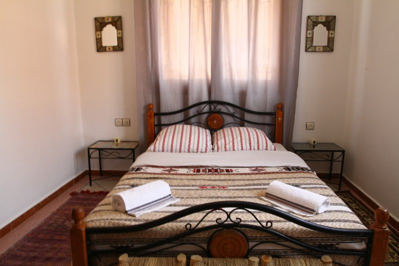 Photo of the double bed