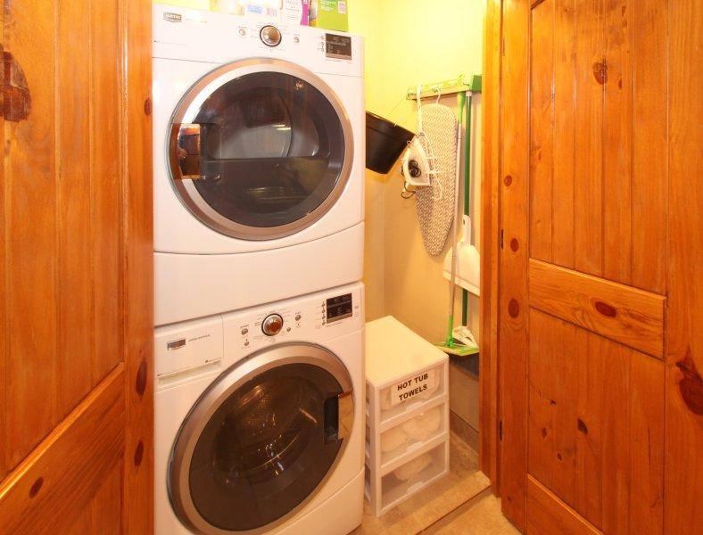 Laundry facility and storage