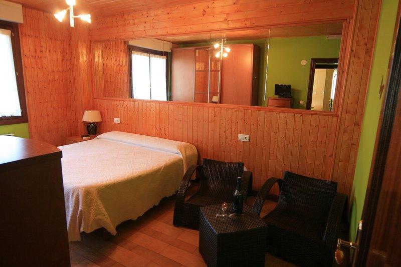 La granja de Vitoria habitación doble B, alquiler de vacaciones en Manurga