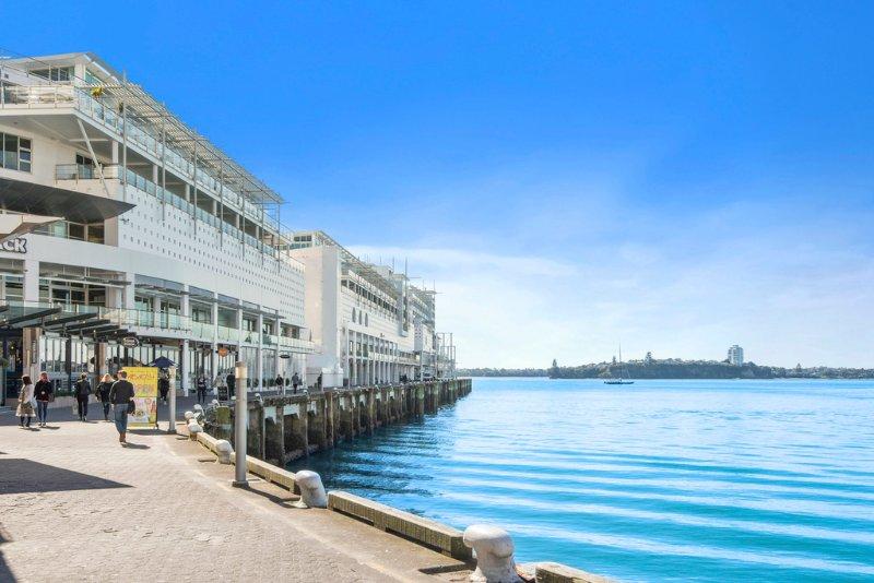 Shed 20 em Princes Wharf, onde está localizado o apartamento