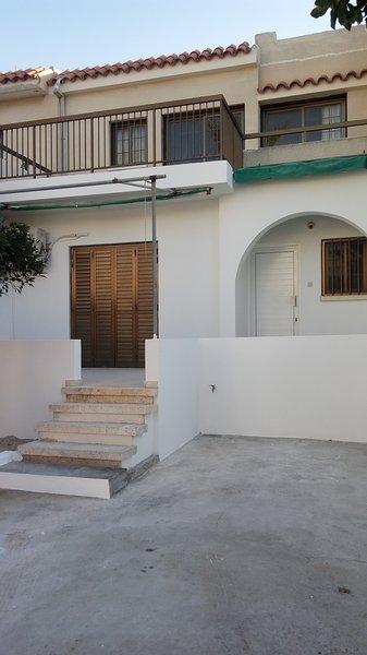 Apartamentos situados en el primer piso de una casa de dos pisos.