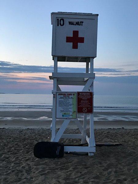 Nuestra estación de salvavidas!