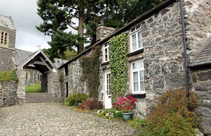 Old Llanfor Village