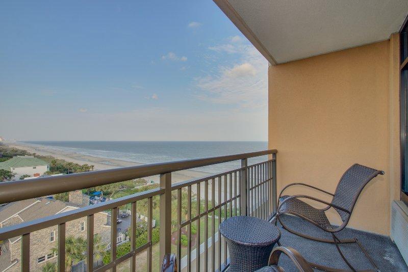 Ocean View Balcony from the Luxury Double Queen Studio