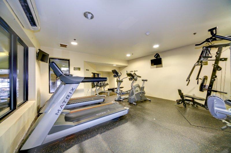 Visitante Centro de Fitness Com vista Indoor Lazy River