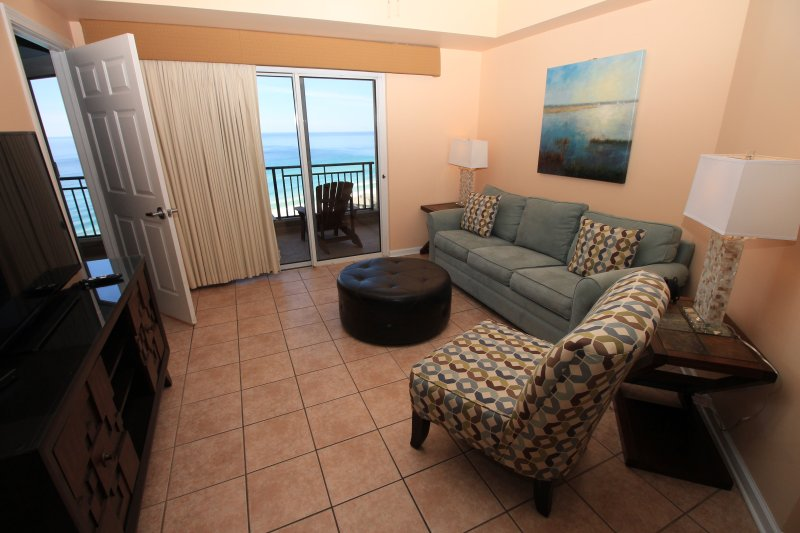 Expansive gulf view from every room