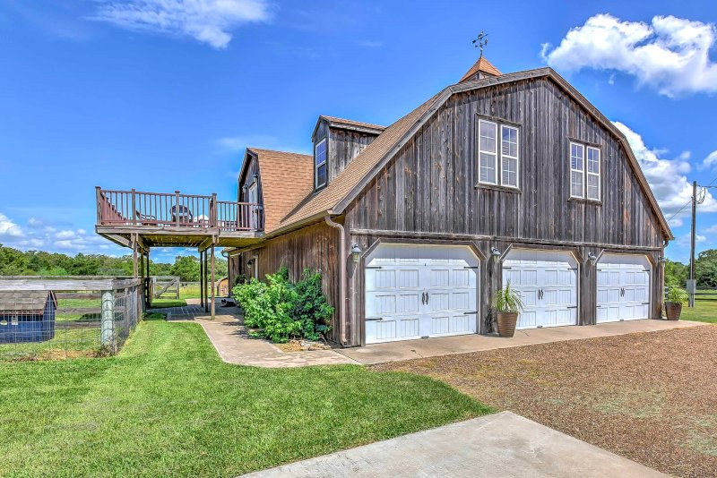 Stay at this vacatio nrental, 'The Carriage House,' on your next TExas getaway.