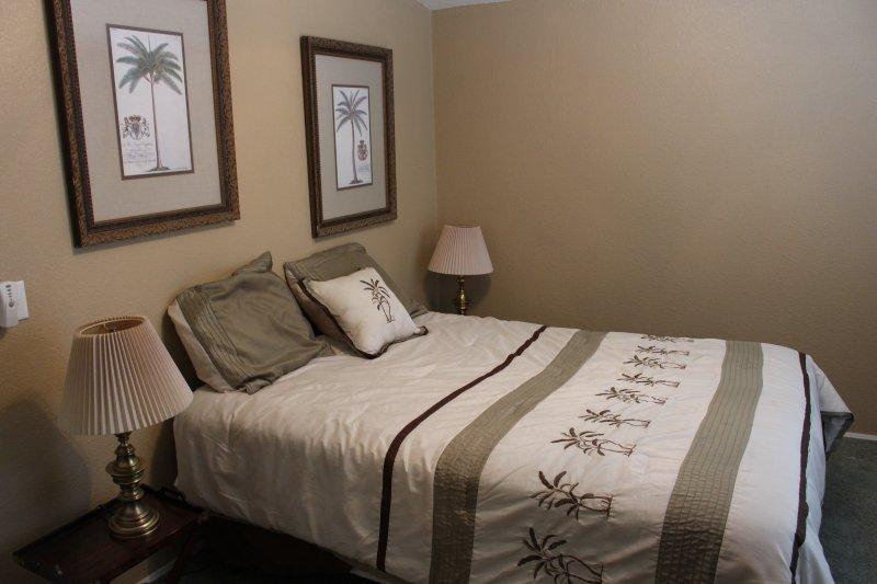 Queen Size Bed in 3rd Bedroom.