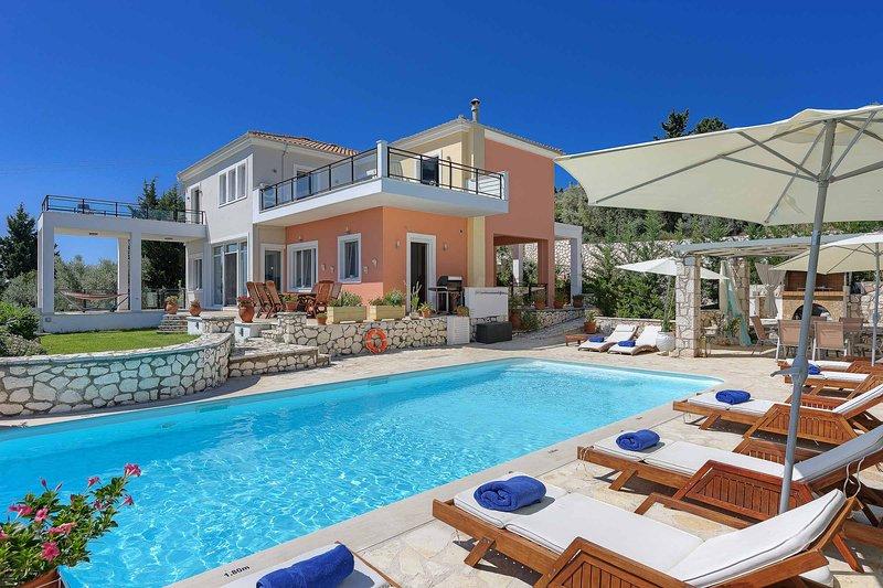 Villa Drepanou Bay, holiday rental in Lygia
