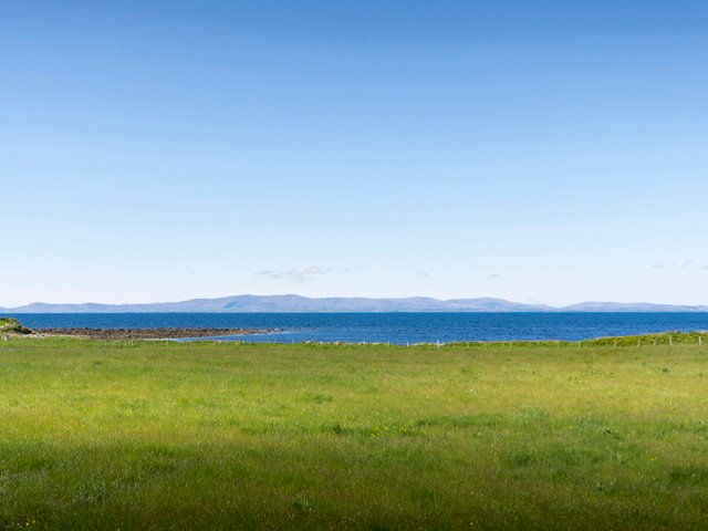 Views across Donegal Bay from near the property