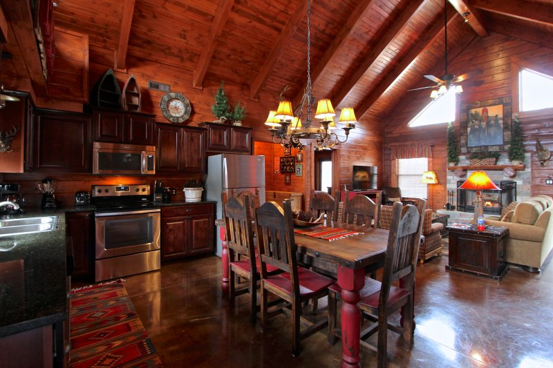 Every detail is included in this cabin