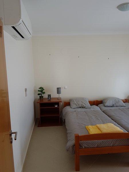 Due camera doppia con balcone e aria condizionata