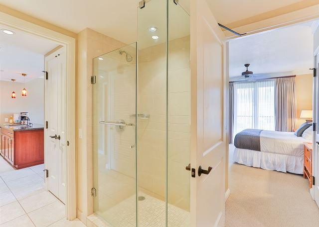 Standing shower and full bath