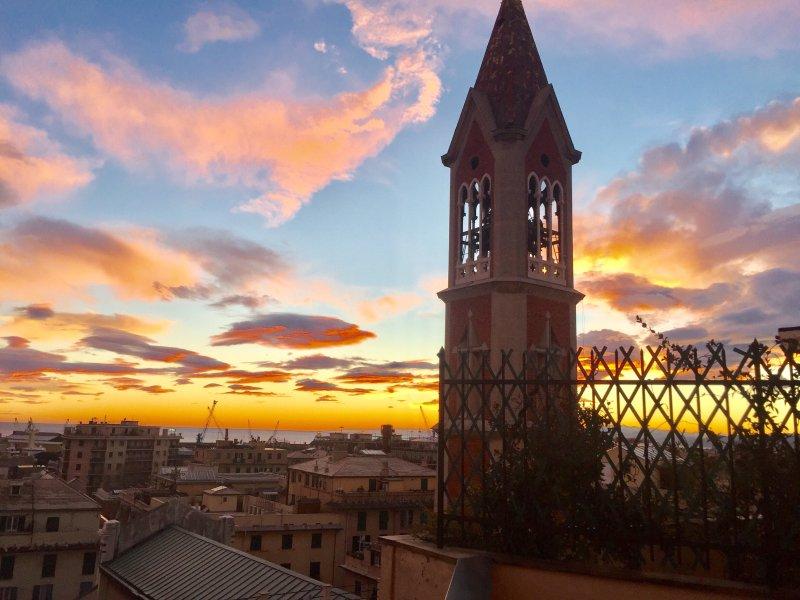 Attico Torre Maris, vacation rental in Genoa