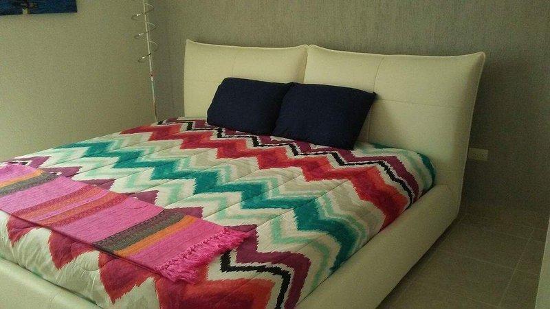 Los dormitorios cuentan con cómodas camas king size