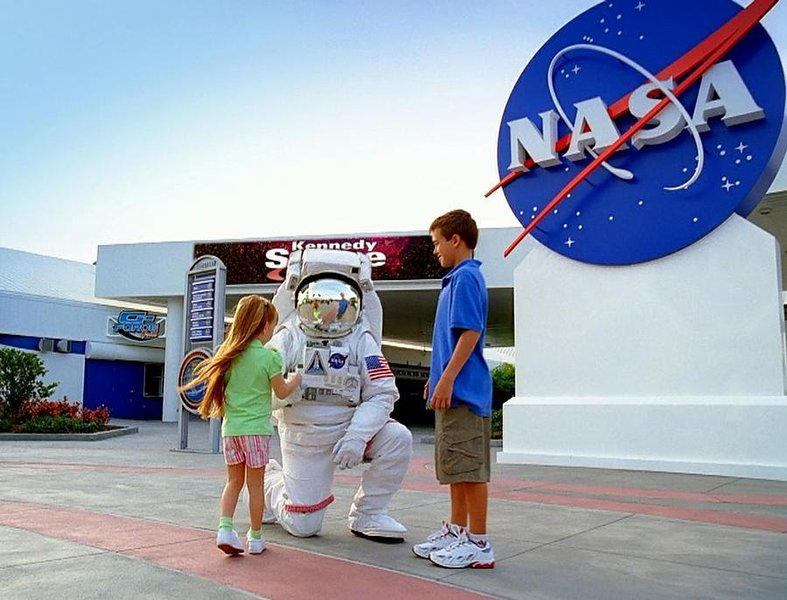 Kennedy Space Center is 40 minutes away