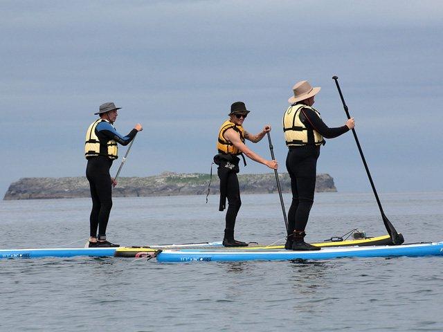 Stand Up Paddle Boarding, Castlegregory, Dingle Peninsula.