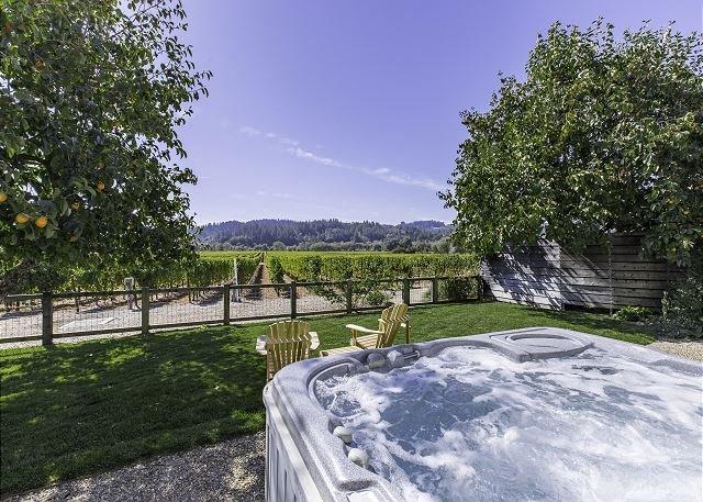 Big Oak Vineyard / Vineyard Views, 3br/2ba, w.Spa and Attached to a Winery!, vacation rental in Healdsburg