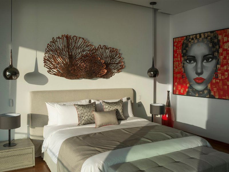 Malaiwana Duplex - Guest bedroom design