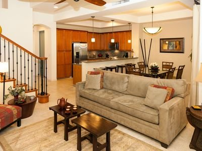 Ideally designed main floor with easy flow from the kitchen, lanai, and dining.