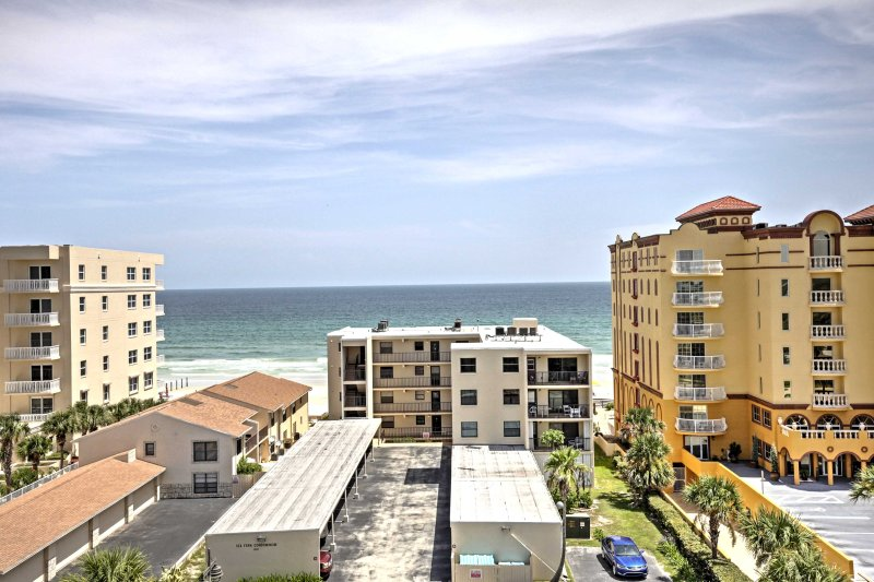 Leave everyday life behind for a stay at a Daytona Beach Shores vacation rental