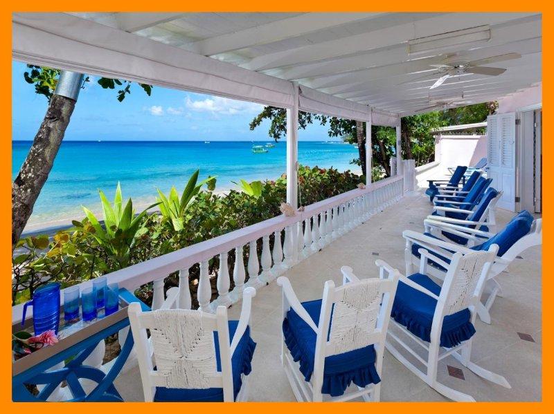 Belair - On Mullins beach - Incredible sea views, holiday rental in Gibbes