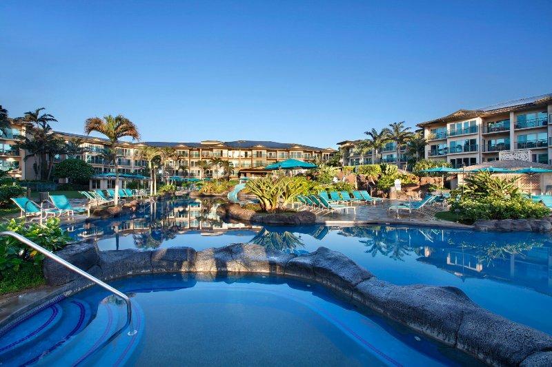 Waipouli Beach Resort one of 3 Jacuzzi's
