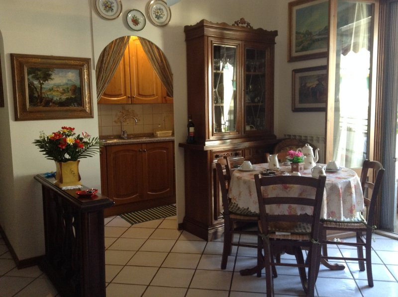 View to the kitchenette