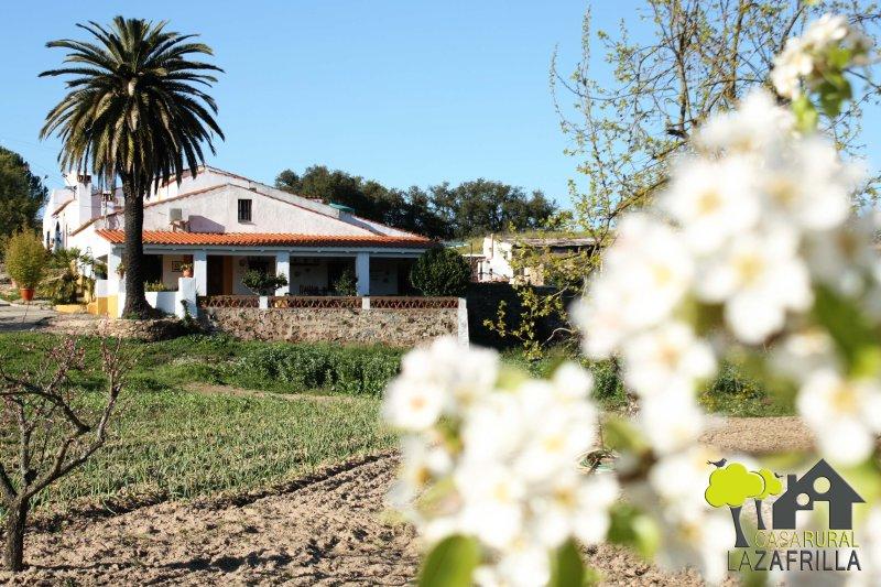 Casa Rural La Zafrilla ¡¡ Disfruta de la Naturaleza!! Ven con familia y amigos, location de vacances à Salvatierra De Los Barros