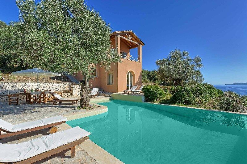 Villa Pisti, location de vacances à Sivota