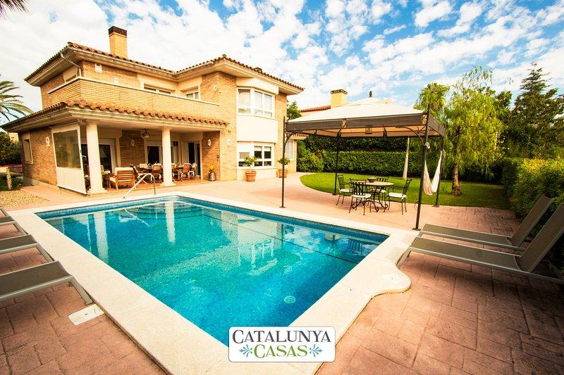 Catalunya Casas: Fantastic Villa Zeus on the golf course of Reus Aigüesverds! – semesterbostad i Reus