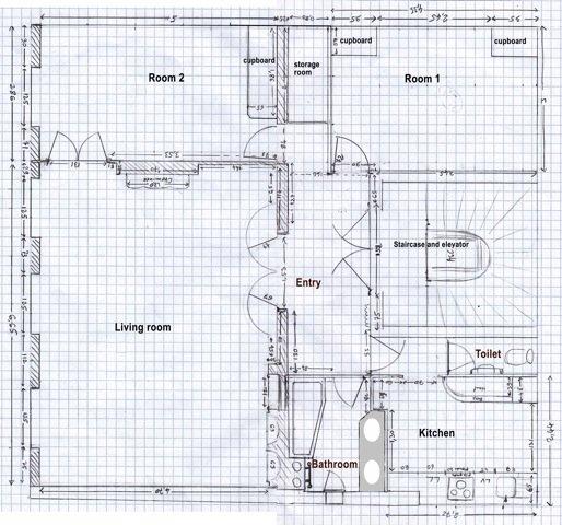 plan appartement grand standing