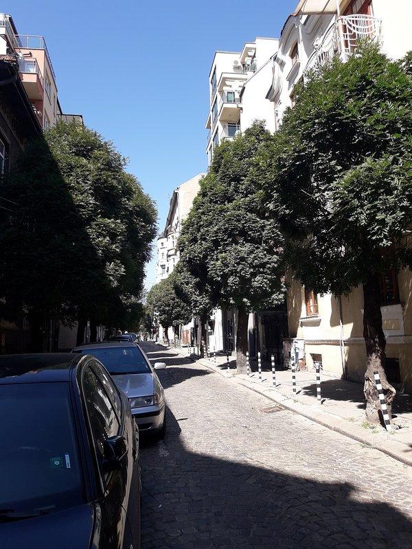 la calle tranquila
