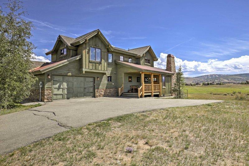 Abenteuer erwartet Sie in diesem atemberaubenden Granby Ferienhaus Haus!