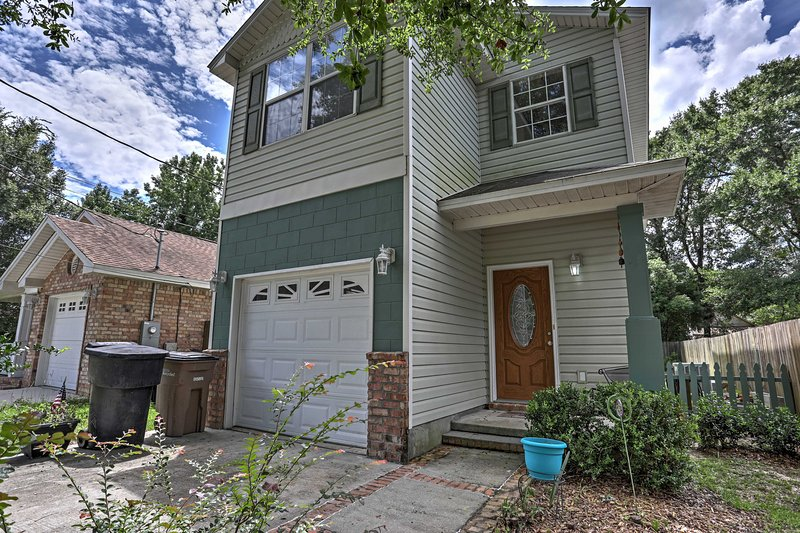 Enjoy everything that this 2-story vacation rental home in Pensacola has to offer.