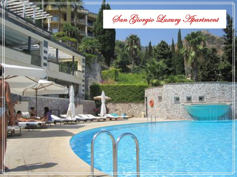 The San Giorgio Luxury Apartment with Pool & WiFi., holiday rental in Taormina