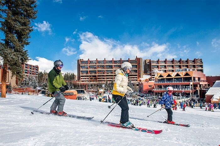 Questa struttura offre l'accesso diretto alle piste da sci.