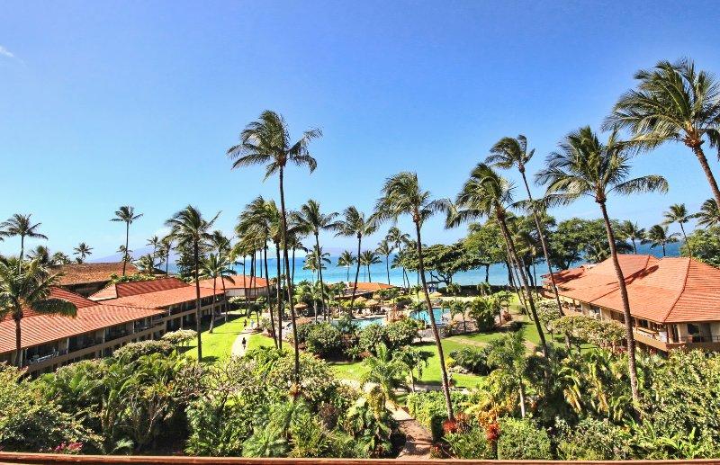 Views from the main building at Maui Ka'anapali Villas