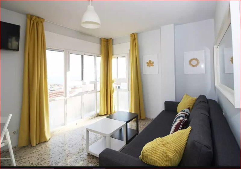 Gran apartamento frente al mar