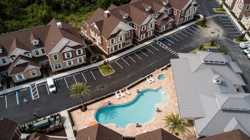 Aerial - Summer Resort