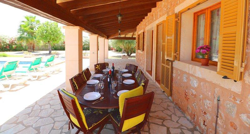 Sa Vinya, wifi gratis, piscina privada, alquiler de vacaciones en Campos