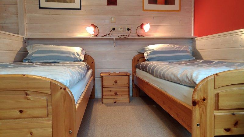 Twin Bed in Sleeping Room