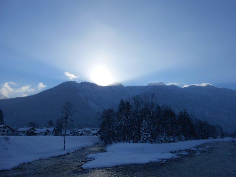 Loisac River in Winter