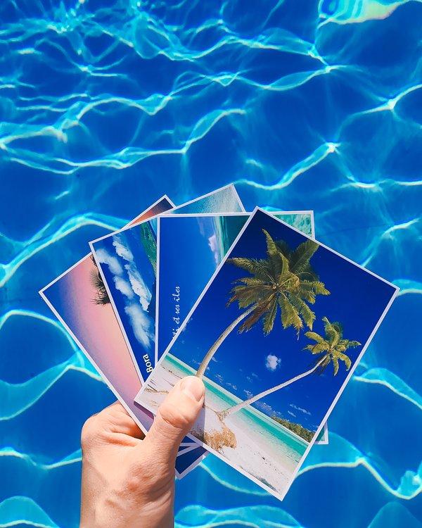 Cartes postales pour envoyer à tous vos amis. Vous serez l'envie des médias sociaux et vos amis.