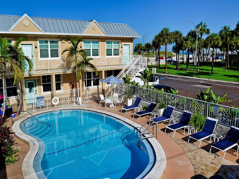 Clearwater Beach Suites is the perfect vacation spot.
