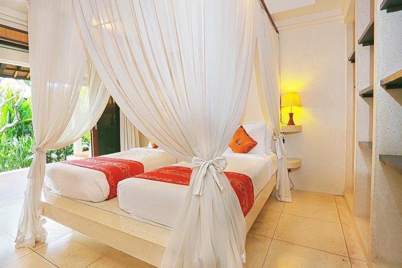 Chambre # 2 peut être mis en place comme un lit double ou lits jumeaux.