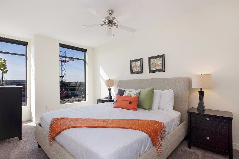 Stay Alfred Nashville Vacation Rental Bedroom