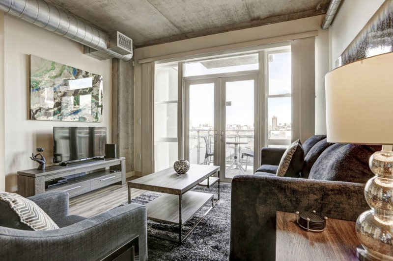 Stay Alfred Premier Lofts - Sala de estar