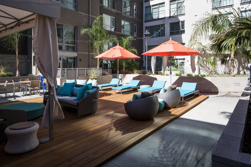 Stay Alfred San Diego Locations de Vacances Patio Communautaire